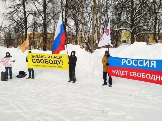 В Кирове состоялся митинг под песни Цоя и ДДТ