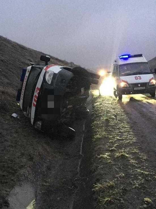 На Ставрополье два врача пострадали в ДТП с машиной скорой помощи