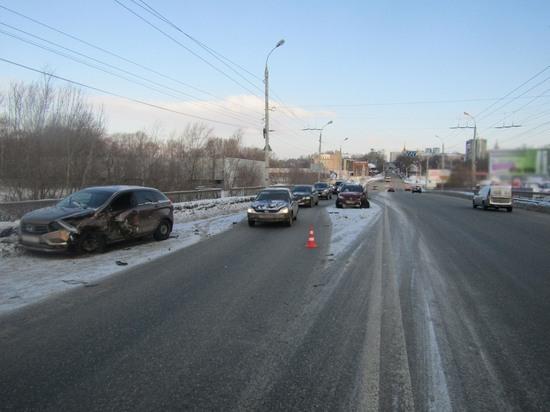 2 человека пострадали в ДТП в Ижевске 14 февраля
