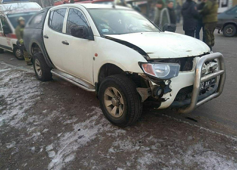 Появились фото с места покушения на комбата ДНР
