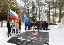 В Оленинском МО прошла минута молчания в память о солдатах, погибших в Афганистане
