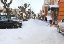 Вице-мэр Рязани поручил очистить платные парковки от снега