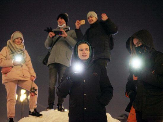 Почему сторонники Алексея Навального посветили в День влюбленных без особых правовых последствий