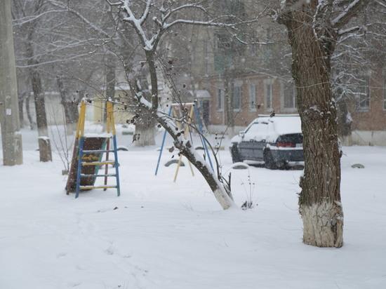 В Калмыкию пришли сильные морозы