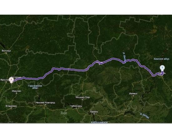 Костромская область потребует от дорожников отремонтировать трассу Кострома-Шарья-Киров-Пермь