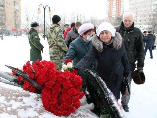 На Звездной площади снова объявили минуту молчания в память о погибших серпуховичах