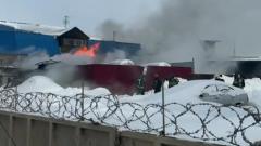 Последствия взрыва на заправке в Новой Москве сняли на видео