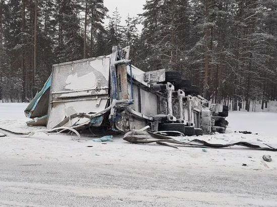 Дальнобойщик из Калмыкии погиб в аварии в Вологодской области