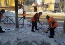 Почти 5 тысяч кубометров снега убрали с улиц Рязани