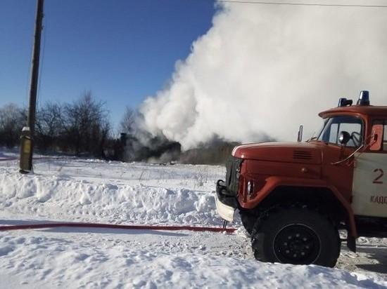В Кадомском районе на пожаре в бане погиб мужчина