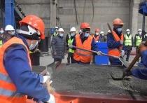 В  Туве запустили  собственное производство железобетонных изделий