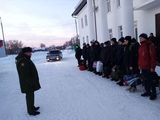 Десятиклассники из Донского отправились на учебные сборы