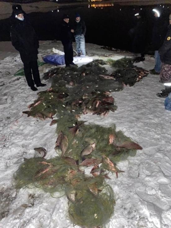 Браконьеры выловили более тонны рыбы на Симферопольском водохранилище