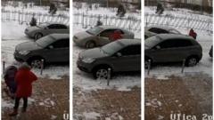 Допрос водителя, наехавшего на маму с коляской в Новосибирске