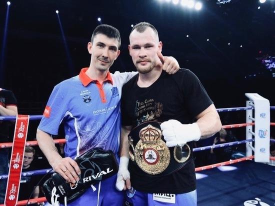 Начаты переговоры о бое за титул чемпиона мира для Егорова