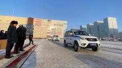 Якутская ГАИ получила 30 новых патрульных автомобилей