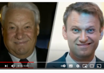 Михалков нашел страшный смысл в улыбках Ельцина и Навального