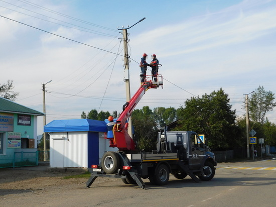 Энергетики установят около 400 уличных фонарей в 8 районах Забайкалья