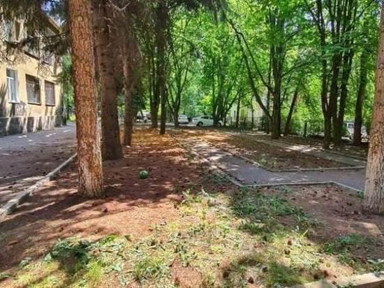 В Пятигорске благоустраивают сквер у Бештау