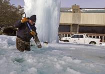 Аномальные холода и снегопады парализовали несколько южных штатов США