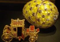 Эрмитаж пообещал проверить яйца с выставки Фаберже после слухов о подделках