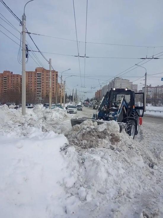 В Калуге будут эвакуировать автомобили, мешающие уборке снега