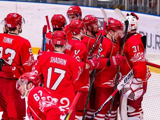 Хоккейный клуб «Ростов» одолел ЦСК ВВС
