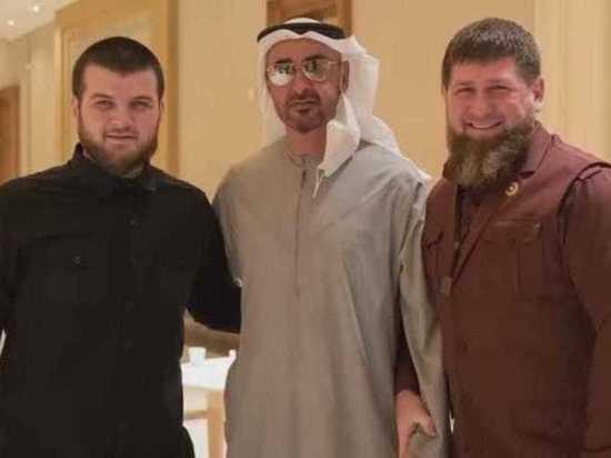 Рамзан Кадыров отвез в Арабские Эмираты послание Владимира Путина