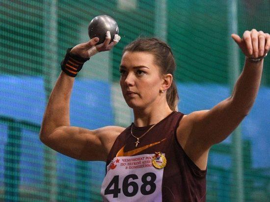 Тверская спортсменка выиграла чемпионат России в толкании ядра