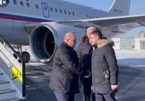 Михаил Мишустин прибыл в Псковскую область