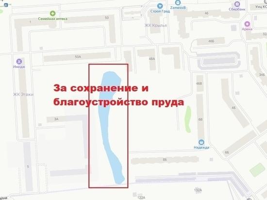 В «Единой России» заинтересовались ситуацией с прудом в Йошкар-Оле