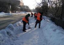 За сутки в улиц Рязани вывезли более 6,5 тысяч кубометров снега