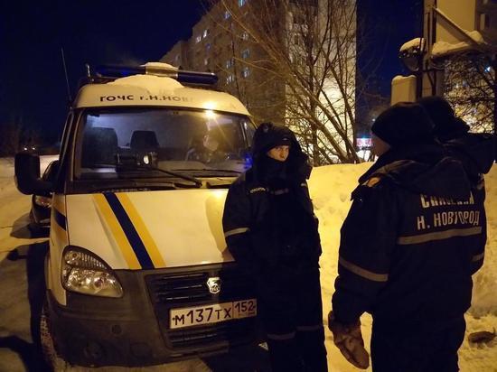 Нижегородские спасатели вызволили мужчину, замерзавшего в снегу