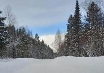 Снег и ветер в Хакасии усложнили обстановку на дорогах