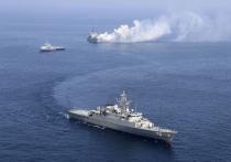 Иран и Россия начали совместные военно-морские учения в северной части Индийского океана