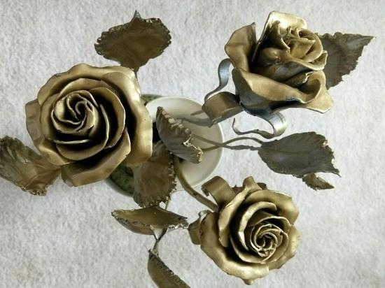 Туляки делают цветы, которые не завянут