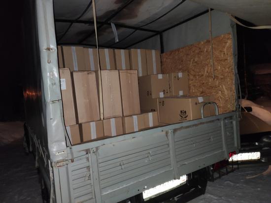 Ещё одну крупную партию контрафактных сигарет нашли в Тверской области