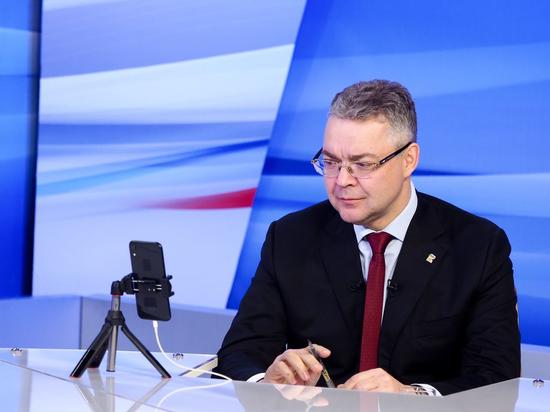 Состоялась первая в 2021 году «прямая линия» губернатора Ставрополья