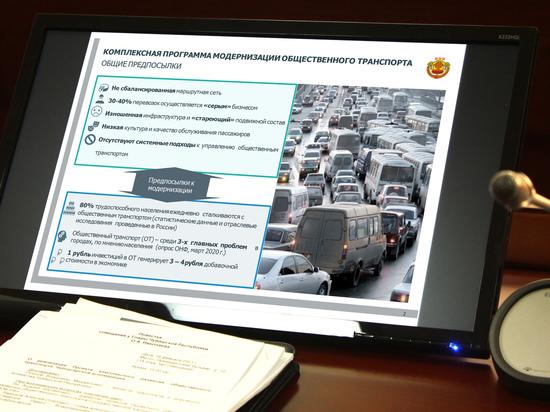Для Чебоксар разработают комплексную программу модернизации общественного транспорта