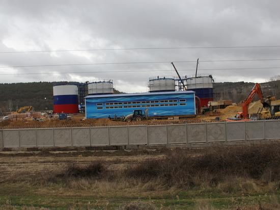 В Севастополе готовят к запуску новый водозабор