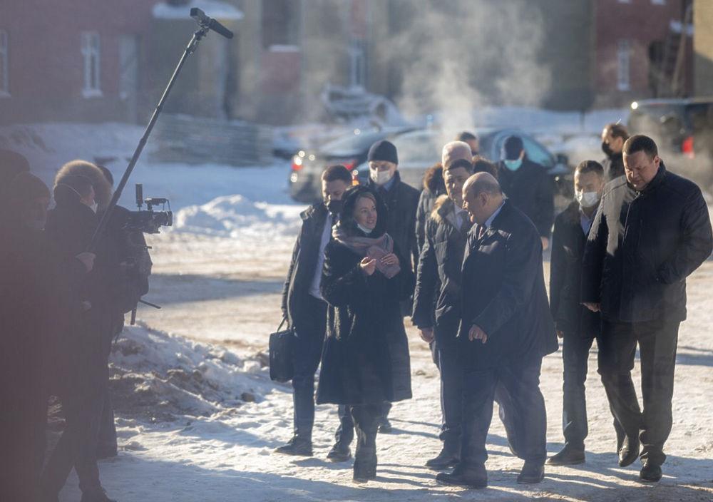 Премьер-министр России провёл день в Пскове