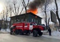 Временное жильё дадут жителям сгоревшего дома на Декабрьских Событий в Иркутске