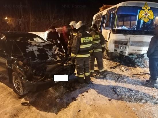 ДТП с автобусом произошло в Калуге