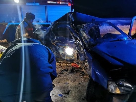 Женщина погибла в столкновении машин между Глазовом и Игрой