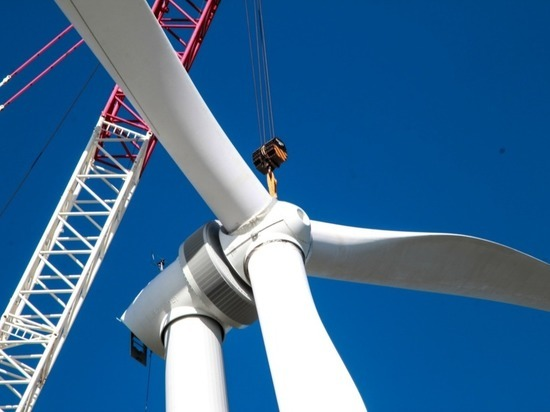 На Ставрополье заканчивают строить вторую ветроэлектростанцию