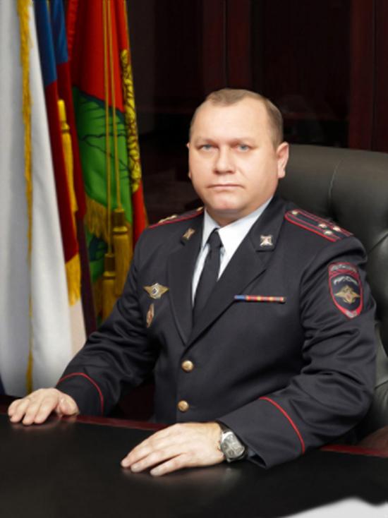 Начальник липецкого регионального УМВД получил звание генерал-майора