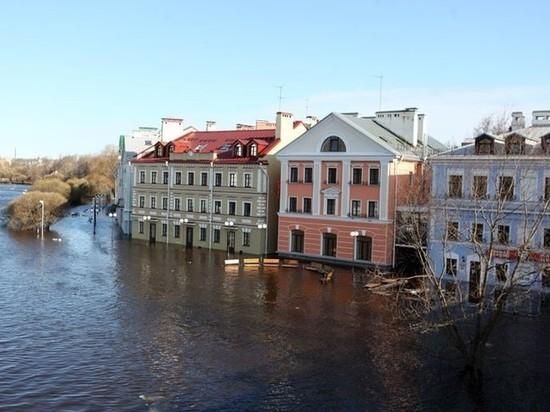 В Пскове прогнозируют весенние потопы