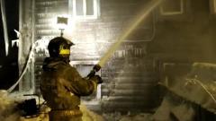 В Кирове при пожаре в деревянном доме погибла многодетная семья