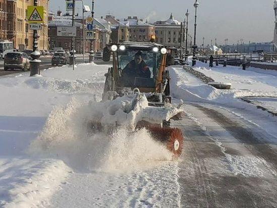Пятидневная норма снега выпала в Томской области