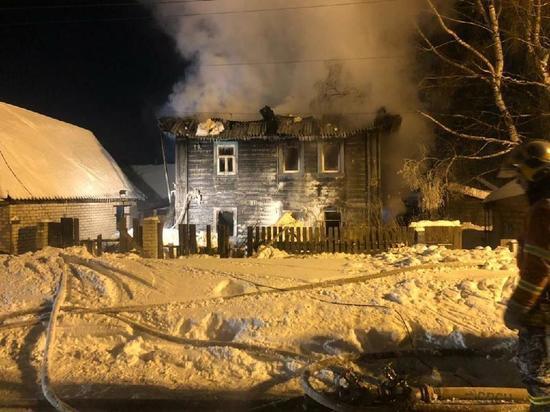 В Кирове ночью в огне погибли пять человек
